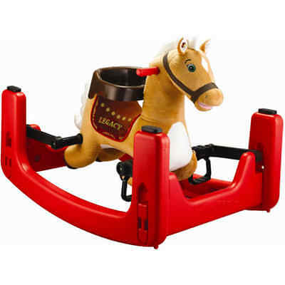 Rockin' Rider Legacy Grow with Me Pony Ride-On, Rocker, Bouncer Convertible to S
