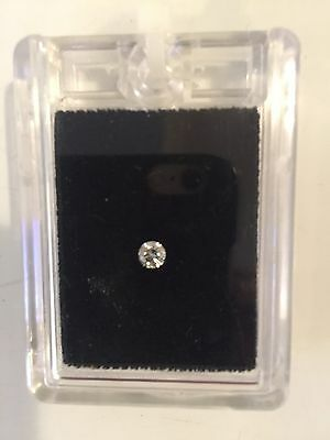 0.25ct Brilliant Cut Diamond - Rare White - VVSA. With Certificate & Valuation
