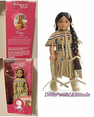 "American Girl 2016 Special Edition 6.5"" Mini Doll KAYA Deerskin Outfit NEW"