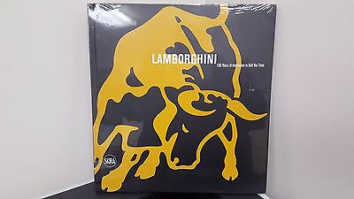 NEW Lamborghini 100 Years of Innovation in Half the time coffee table book RARE