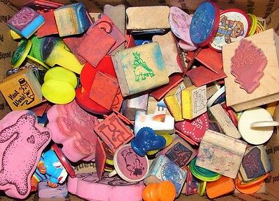 HUGE LOT OF  RUBBER AND WOOD STAMPS for EVERYONE