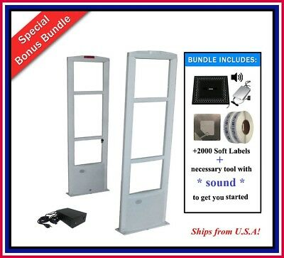 COMBO-A 2000 Labels Retail Store Antitheft Checkpoint Compatible Security System