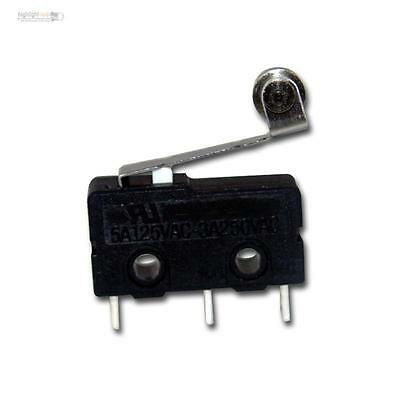 Microswitch / Switch, 250V/3A, mit Roll lift ideal im Model making zb for LEDs
