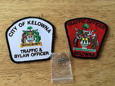 Canada City of Kelowna Bylaw/Traffic Enforcement Officer Patches and Pin