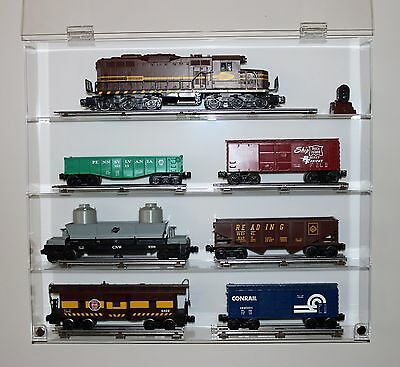 Collectors Showcase - Premium Display Case for Model Trains - T3MS