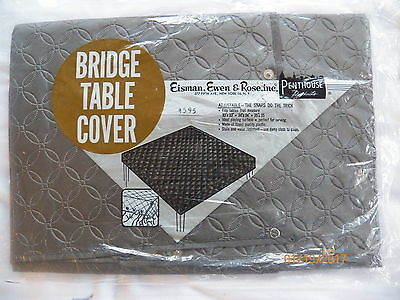 """Bridge Table Cover Penthouse Products Fits Tables 33 34 35"""" Been in Storage OLD"""