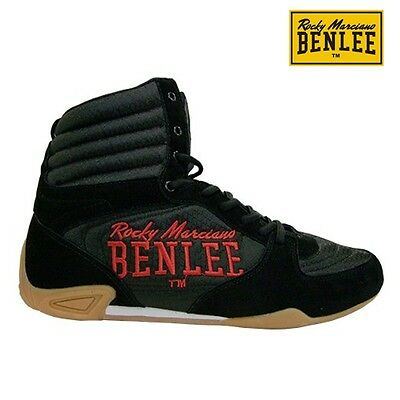 Benlee Men's Leather Box Shoes Jabs Leather Shoes MMA UFC Boxing Gr. 39-45