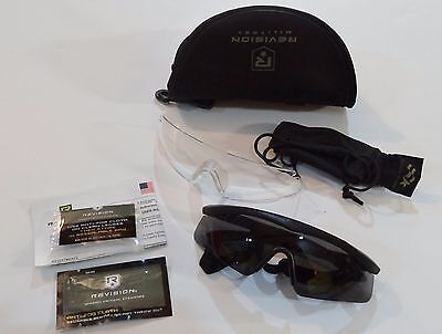 Revision Sawfly Military Eyewear System NEW! Tinted & Clear Lens