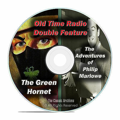 The Green Hornet & Philip Marlowe, 407 shows, FULL SET, Old Time Radio DVD F68