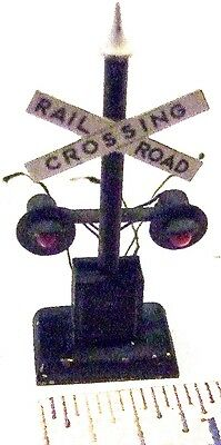 HO Brass Railroad/Street Crossing Signal