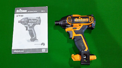 New Triton 18v Impact Driver RRP $156. (Skin only) powerfull and reliable.