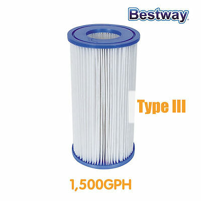 NEW Bestway Cartridge Filter for Above Ground Swimming Pool SPA Pump 58012