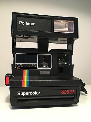 Vintage POLAROID Camera Supercolor 635CL - WORKS PERFECTLY