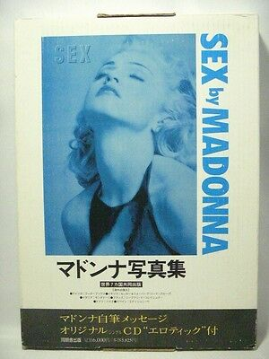SEX by MADONNA Japanese Japan Edtion Photo Book w/CD