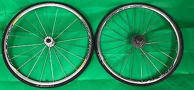 Mavic Aksium Wheelset (USED) in good condition with 105 cassette