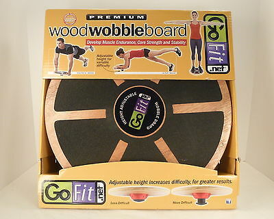 GoFit - Wood Wobble Board
