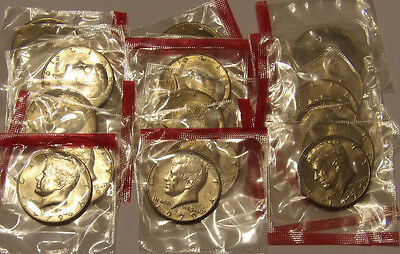 1979 D Kennedy Half Dollar Dollar Mint Cello BU 20 Coin Roll