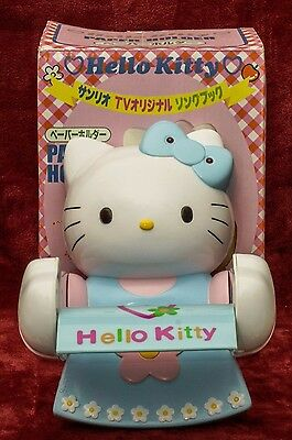 Vintage 1998 Rare Hello Kitty Toilet Paper Holder Sanrio -  Roll Stand