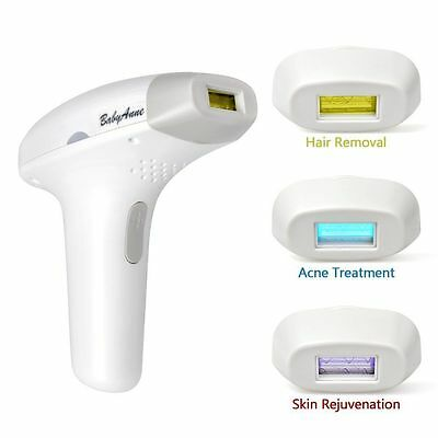 Elera 3 in 1 IPL Permanent Hair Removal System Acne Treatment Whiten Skin for Wo
