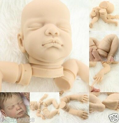 Rare limited edition solid silicone mold soft and flexible Reborn doll kits gift
