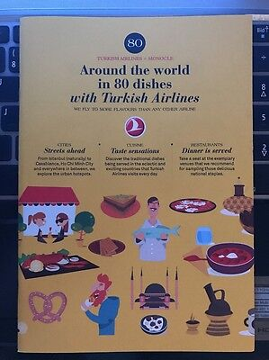 Brochure Turkish Airlines Around the world in 80 dishes with Turkish Airlines
