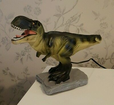 Children's T-Rex Dinosaur Led Night Lamp/light Bedroom Playroom