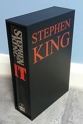 **SIGNED** Stephen King IT (First Edition, 1st Print) Viking. Hardback Book 1986