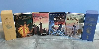 A Game Of Thrones + Clash Of Kings *SIGNED* George R R Martin Subterranean Press