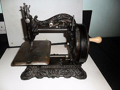 RARE. Antique Princess of Wales Sewing Machine. 1873 Newton Wilson #80705