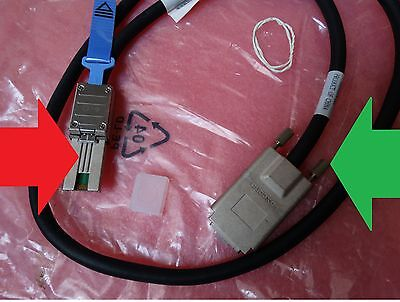 Genuine HP 408771-001 SAS CX4 SFF-8470 to SFF-8088 MiniSAS External Cable 1m 3FT