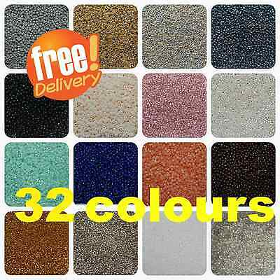 TOHO ! NEW COLOURS ! Various  Colours and Types  !! Round Size 8o , 11o -10g