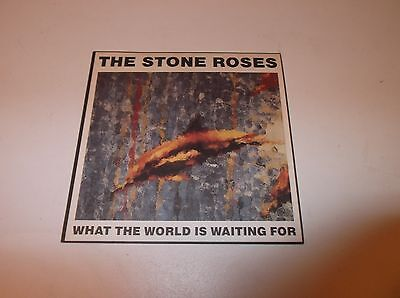 """The Stone Roses What The World Is Waiting For 7"""" Single"""