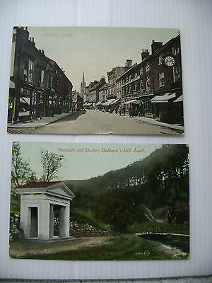 (015) Two vintage postcards of Louth, Lincolnshire, both P/U 1913 & 1919