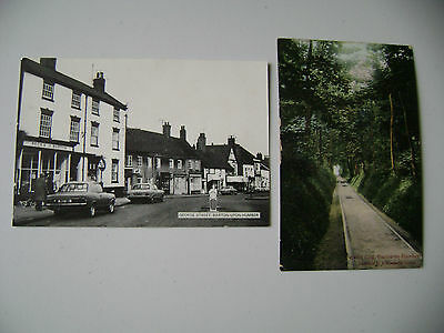 (133) Two  vintage postcard s of Barton on Humber, Lincolnshire. One used 1906