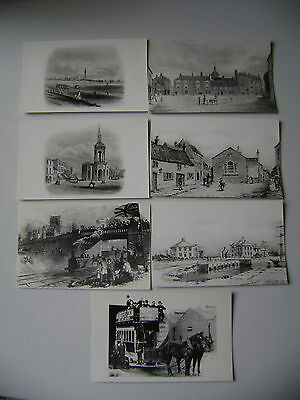 (142) Seven Grimsby  postcards reproduced by Humberside Libraries way back