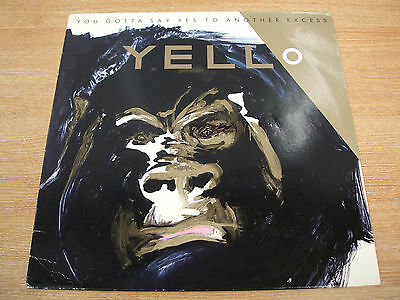 yello  you gotta say yes to another excess  1983 uk stiff label  issue vinyl lp