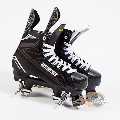Bauer Quad Supreme S140 Roller Skates conversion - No wheels or bearings