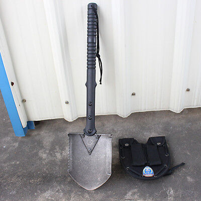 Outdoor Camping Survival Army Military Hiking Spade Shovel Multi-Tools Knife