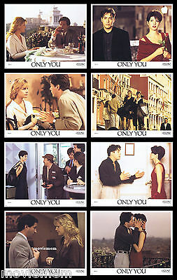 ONLY YOU Rare LOBBY CARD SET Marisa Tomei Robert Downey Jr. Bonnie Hunt
