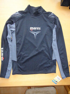 Mares Thermo Guard 0.5 Scuba Wetsuit Long Sleeve Shirt SIZE:  L