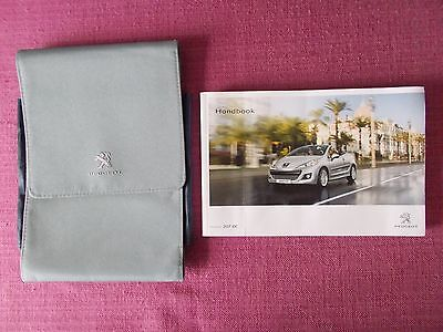 Peugeot 207 Cc Coupe/cabriolet (2009 - 2014) Owners Manual - Handbook (Pe 1036)