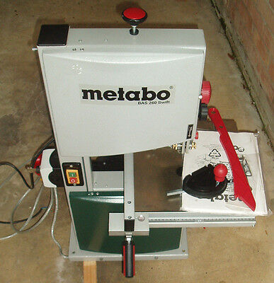NEW Metabo BAS 260 swift Precision Bench Top Woodworking Bandsaw