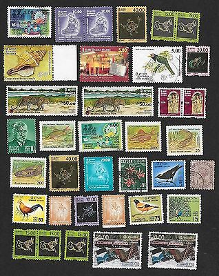(111cents) Ceylon Collection of used & Mint Stamp 40+