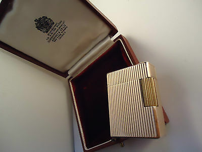 S.T. Dupont Line 1 Lighter - ASPREY RARITY - Cased - Feuerzeug - Briquet
