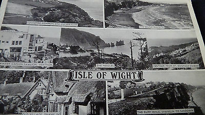 Old  Postcard 1948 Isle Of Wight Multiview 221