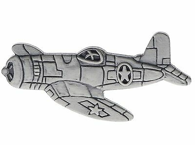 Vought F4U Corsair Fighter pewter Hat or Lapel Pin Hon15151
