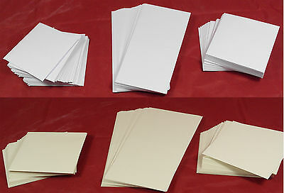 "50 Card blanks and envelopes 4""x4"""