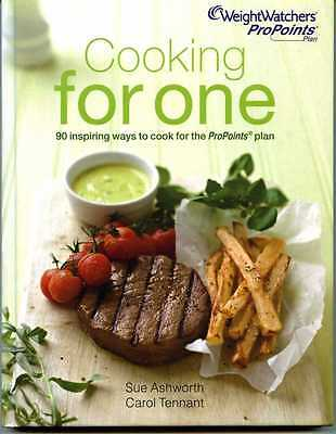 Weight Watchers Pro Points 'Cooking For One' Cookbook, Over 90 Delicious Recipes
