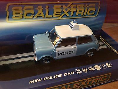 Scalextric Sport C3213 Mini Police Car Boxed New