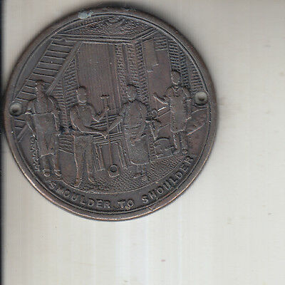 National Union Of Stove Grate Workers Victorian Trade Union Badge
